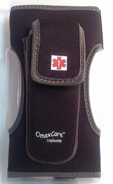 epipen cases and auviq pouch legbuddy by omaxcare