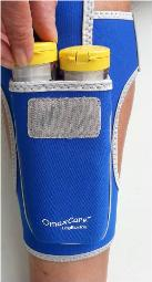 epipens inside legbuddy by omaxcare
